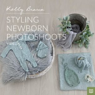 styling newborn photo shoots