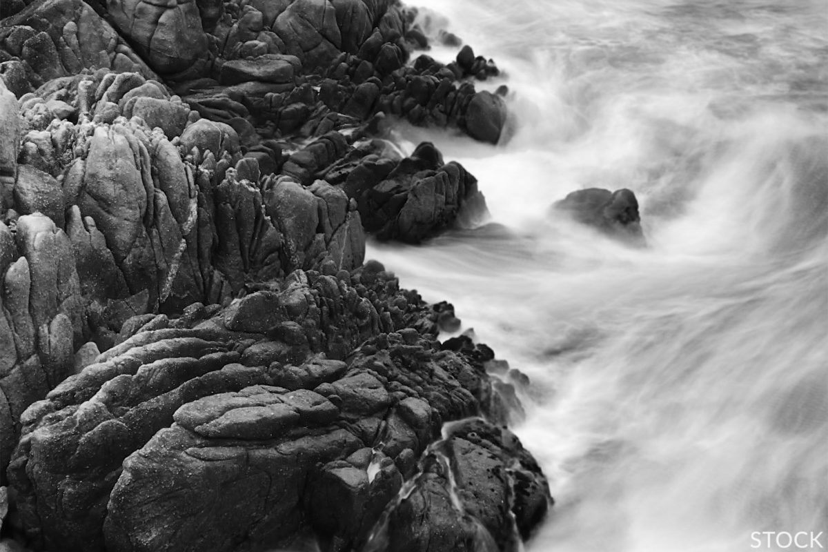 long exposure to create soft texture in photography